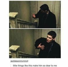 Dean Winchester you are adorkable