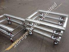 Stainless frames to make pallet boxes. Pallet Boxes, Storage Design, Frames, Stainless Steel, How To Make, Frame, Pantry Design