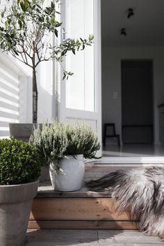beautiful outdoor living spaces and garden design ideas Outdoor Areas, Outdoor Rooms, Outdoor Living, Exterior Design, Interior And Exterior, Outside Living, Terrace Garden, Sweet Home, Home And Garden