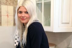 How Kate Young maintains platinum blonde hair: http://intothegloss.com/2014/02/blonde-hair-color-tips-pictures/