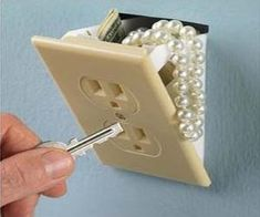 Wall Outlet Safe