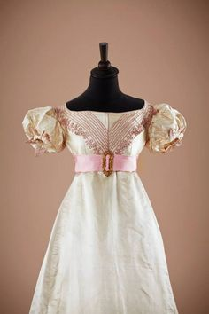 Evening dress, early 1820's From thecollection of...