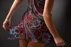 awesome crochet dress