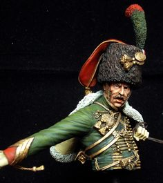 Completed Critique - Chasseur a Cheval Imperial Guard | planetFigure | Miniatures