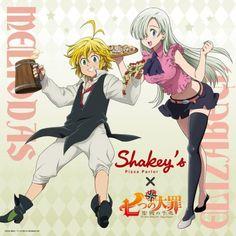 Elizabeth Seven Deadly Sins, Seven Deadly Sins Anime, 7 Deadly Sins, Princesa Elizabeth, Meliodas And Elizabeth, Elizabeth Liones, Sir Meliodas, Comic Book Template, 7 Sins