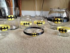 Daffodil Daydreamz: Batman Birthday Party: Candy Buffett