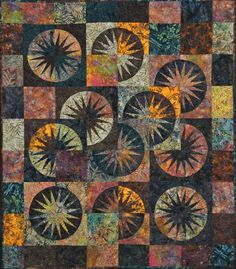 Desert Sky ~ Quiltworx.com  Made by Certified Instructor Maureen Wood