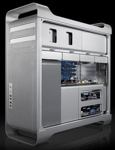 Apple Mac Pro 8-Core Computer with Two 2.8GHz Quad-Core Intel Xeon Processors.