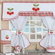 modelos de cortinas para mesones de cocina - Buscar con Google   cortinas paso a paso ...