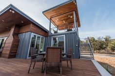 Featured on HGTV's Container Homes…learn more about this exciting trend and see more spaces at HGTV.com/containerhomes sponsored by @nest
