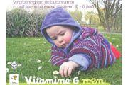 Vitamine G(roen) - cover Vergroening van de buitenruimte in onthaal- en opvanginitiatieven voor kinderen van 0 tot 6 jaar.