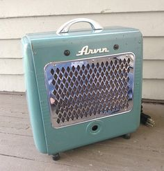 Repurposed, Upcycled Vintage Space Heater Converted Amp, Instrument Amplifier, guitar, bass,  keyboard amp. on Etsy, $300.00