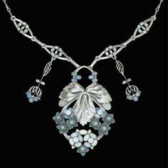 Art Nouveau Necklace by Georg Jensen   ca.1915