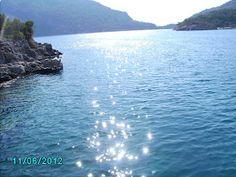 Open sea in Turkey