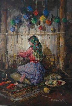 Ressam REMZİ TAŞKIRAN - Türkiye