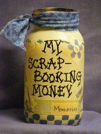 Hobbies Money Jar :)