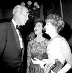 Jimmy Stewart. Loretta Young and Irene Dunne 1960s