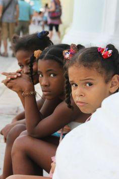 Children of the diaspora in Havana, Cuba