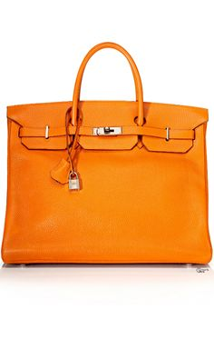 Orange ● Clemence Leather Birkin