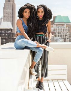 cipriana-tk-street-style-afro-friends-denim-striped-pants