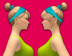 Lana CC Finds - osimllia: Fancy Updo Hair! (I know it's not that...