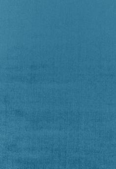 Fabric | Sophia Velvet in Azure | Schumacher...velvet accent chair in living room.