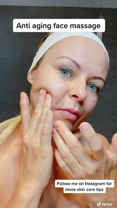Face Oils Best, Make Up Gesicht, Face Yoga Exercises, Facial Yoga, Beauty Tips For Glowing Skin, Massage Techniques, Face Skin Care, Skin Care Tips, Anti Aging