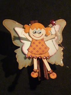 Crafty Cow Creations: punching fairies