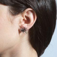 Nervous System | Shop | Algae | mini bloom earrings  Source: http://n-e-r-v-o-u-s.com/shop/product.php?code=127=earrings#