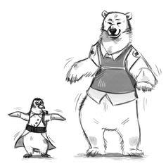 Polar dance by Kethavel