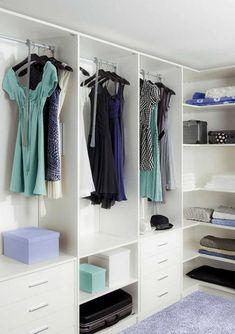 Perfect Ordnung im Kleiderschrank Tipps Freiraum tut gut