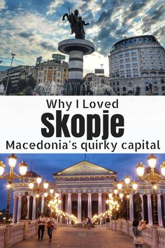 Skopje in Macedonia is a really interesting, diverse, cool and quirky city with so much to explore plus it's one of the best bargains in Europe. I loved my visit here and feel it's a really underrated and great value destination. Here's why Skopje is worth a visit