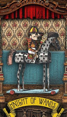 The Tarot of Mister Punch: Knighty-Knight, Punch.