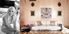 New post on Season Hit blog: Fashion insiders at Home. Donatella Versace