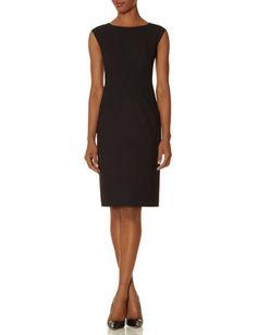Collection V-Back Sheath Dress