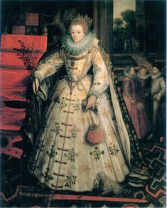 Photo of Elizabeth I, Queen of England for fans of King Henry VIII. Elizabeth was the daughter of Henry VIII and Anne Boleyn.