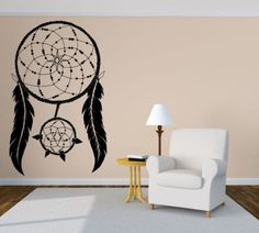 Free Shipping Dream Catcher Wall Room Decor Art Vinyl Home Decal Wall Sticker For living room