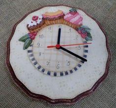 Relógio Cupcakes