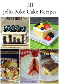20 Retro Jello Poke Cake Recipes