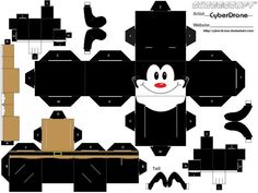Cubee - Yakko Warner by CyberDrone.deviantart.com on @deviantART