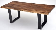 Contemporary Rustic Dining Table - Design #1 - Item #DT00400 - Custom Sizes Available