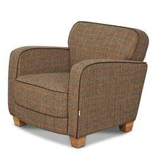 Roger Brown Harris Tweed Armchair - Modish Living