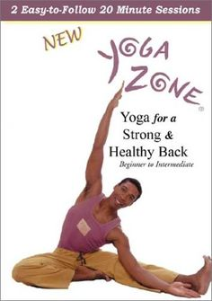 Yoga Zone  Yoga for a Strong and Healthy Back -- More info could be found at the image url.