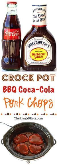 Crockpot BBQ Coca-Cola Pork Chops Recipe! ~ from TheFrugalGirls.com ~ give your classic pork chops a flavor-packed makeover with this Easy Crock Pot Barbecue Recipe!