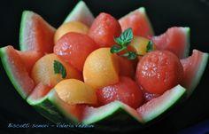 ispirazioni: Macedonia di anguria e melone