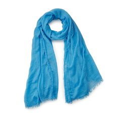 Super soft and breathable, this cotton scarf has a secret weapon: natural, odorless, non-toxic bug repellent.
