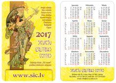 SIC new calendar. Новый календарь SIC на 2017-й год.
