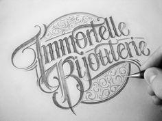 Logo&Type - Handlettering by Mateusz Witczak, via Behance