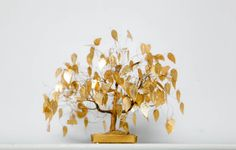 Vintage Pliable Golden Tree Fall Holiday Home by CheyenneKansas, $15.00
