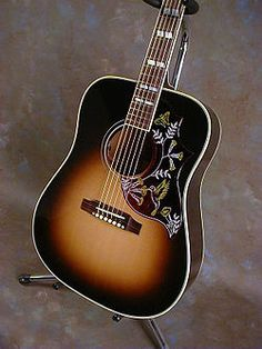 We'll have an incredible Gibson Hummingbird Guitar!